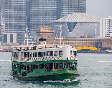Hong Kong Maritime Scene, February 2020.