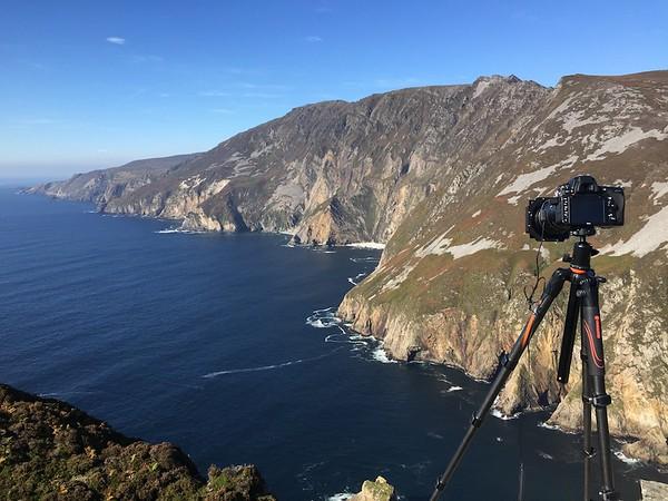 Vanguard VEO at Slieve League Cliffs, Ireland