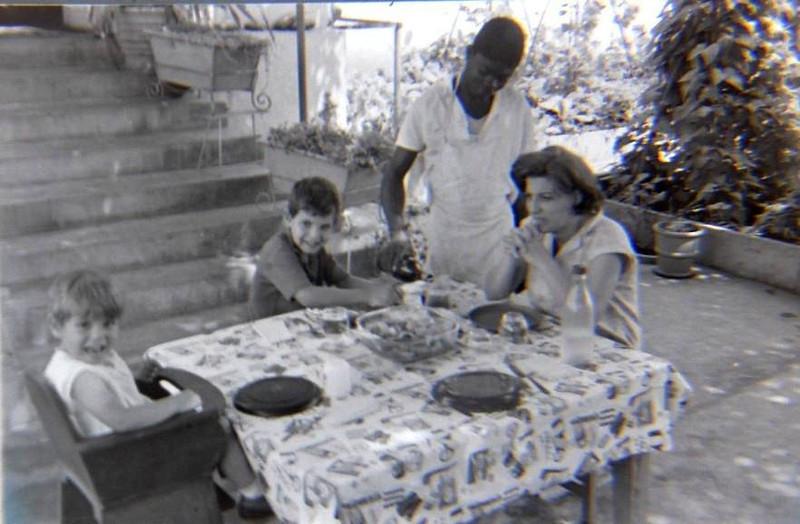 Andrada Vera Venancio e filhos Jean Claude e Ivo