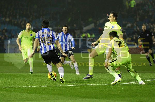Sheffield Wednesday v Brighton 03 - 11 - 15