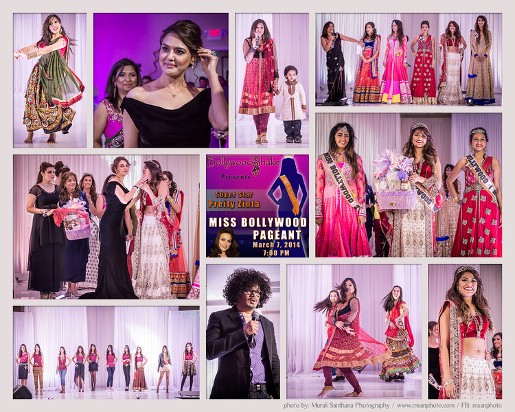 Miss Bollywood Houston 2014 - Beauty Pageant