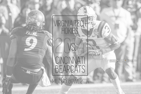 Military Bowl 2014: Virginia Tech vs Cincinnati