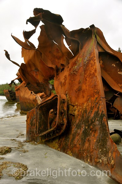 Ship Wreck at Tonque Point