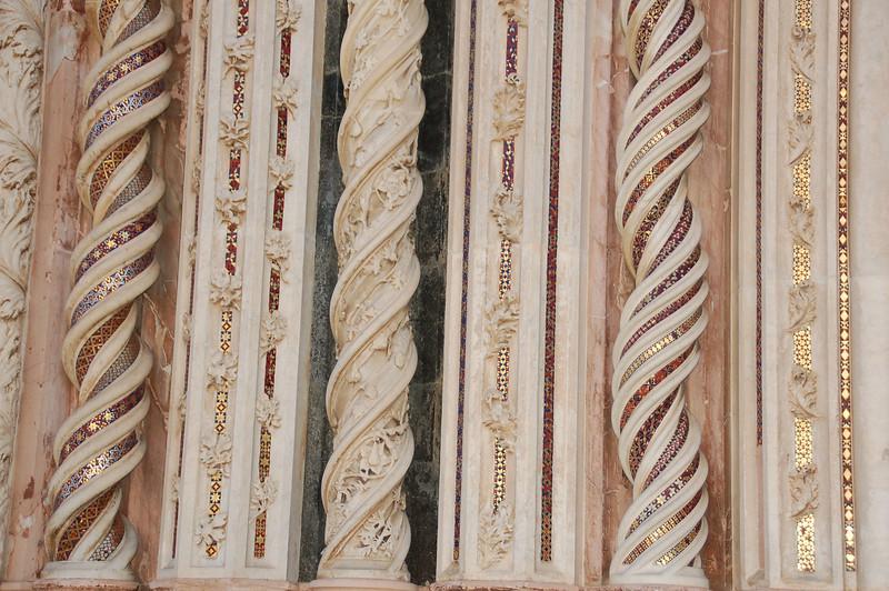 Orvieto, Italy Duomo facade (Detail)