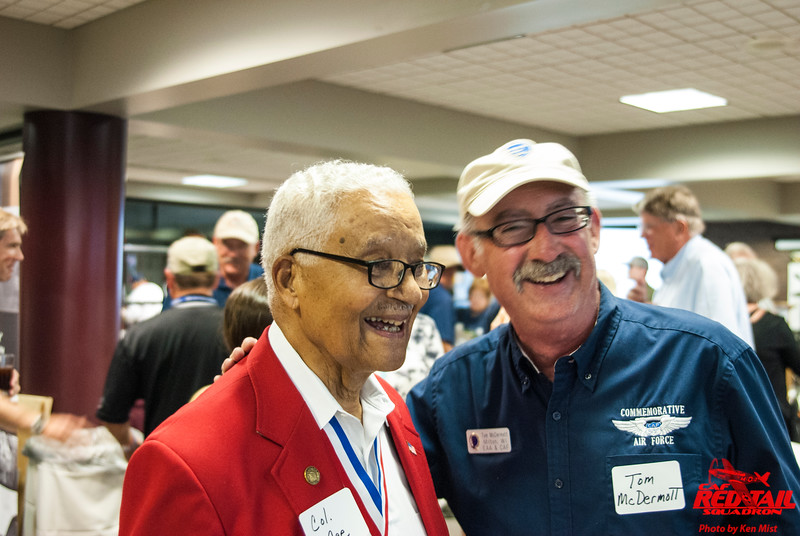 Col. McGee and Col Tom McDermott of the CAF Wisconsin Wing.