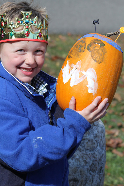 NWPL Scarecrows and Pumpkins