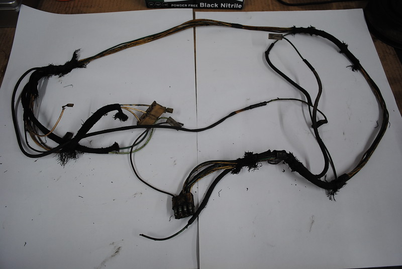 Old frayed cabling needs to be replaced