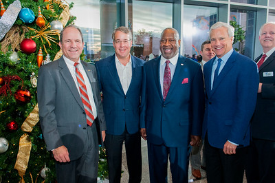 Charlotte Regional Partnership Annual Christmas Party @ NASCAR Plaza 12-7-16 by Jon Strayhorn