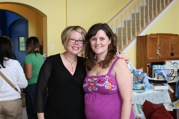 Me & Sara at Sara's Baby Shower - June 10, 2006