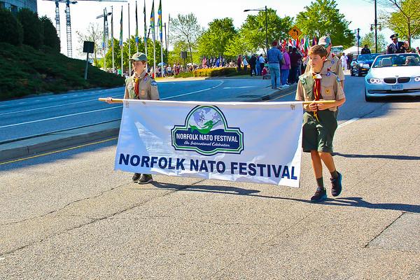 2018 Norfolk NATO Festival Parade