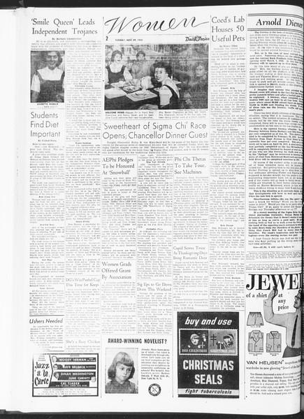 Daily Trojan, Vol. 47, No. 50, November 29, 1955