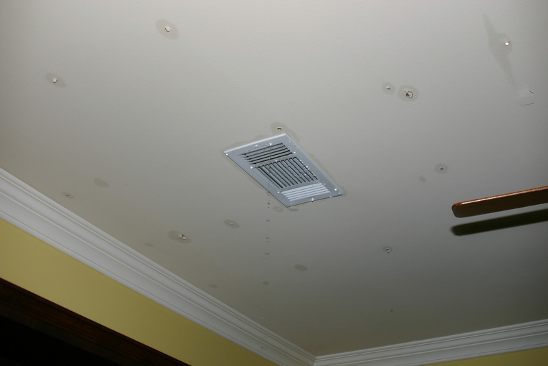 Most AC vents don't usually double as faucets ...