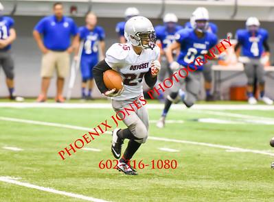 8-27-16 - Needles v Odyssey - Football Game - NAU KICKOFF Classic