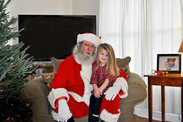 Santa Visits Gigi's Day Care 12-18-2015