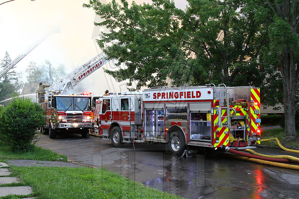 Springfield, Ma. 2nd alarm 7/3/13