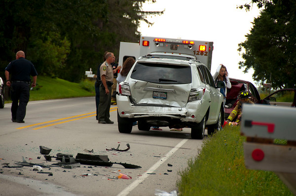 Pingree Grove Crash injures 5 - Sept. 3, 2010