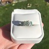 2.10ct Art Deco Peruzzi Cut Diamond Ring, GIA W-X SI2 29