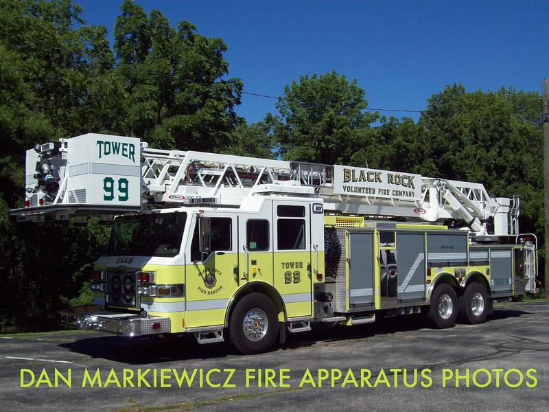BLACK ROCK FIRE & RESCUE OAKS STATION TOWER 99 2012 PIERCE LADDER TOWER