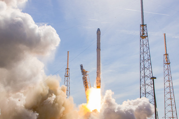 CRS8 Falcon9 ISS Resupply
