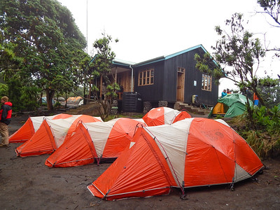 Machame Campsite 9,840 ft.