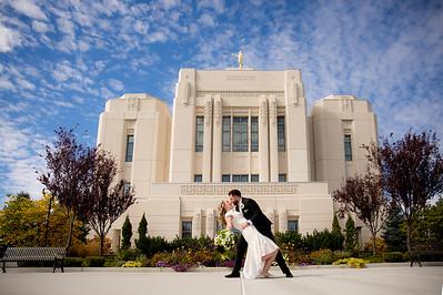 Levi and Sarah Wedding Ceremony~Meridian LDS Temple Mormon Reception in Idaho ID