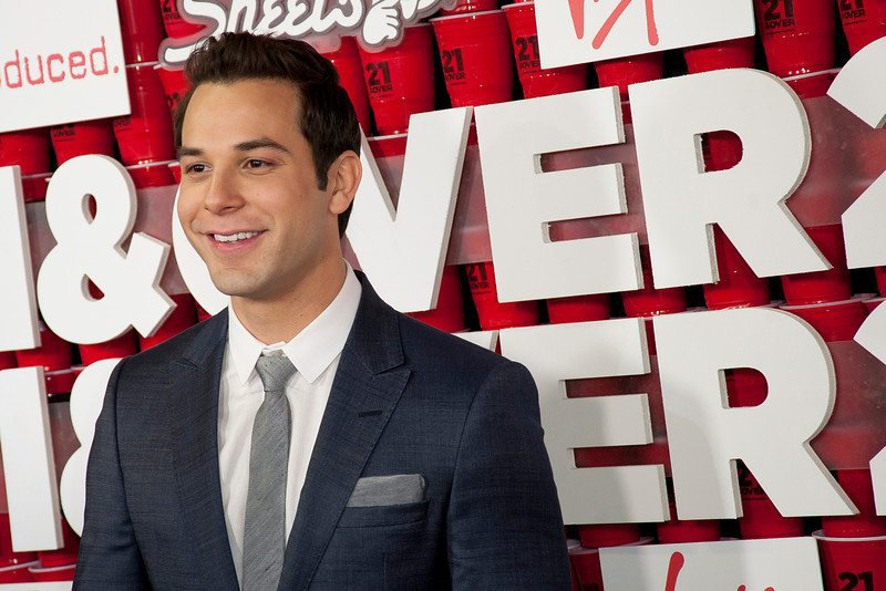 WESTWOOD, CA - FEBRUARY 21: Actor Skylar Astin attends Relativity Media's '21 and Over' premiere at Westwood Village Theatre on Thursday, February 21, 2013 in Westwood, California. (Photo by Tom Sorensen/Moovieboy Pictures)