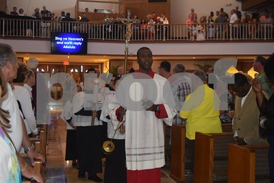 2017-04-16 Easter Sunday Mass with Msgr. Badia