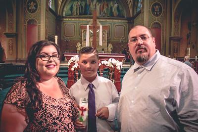 Rey Silva 1st Holy Communion