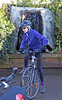 Rachel's bike behaved itself.