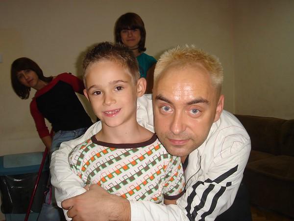 Wizyta pana Tomka w Domu Dziecka