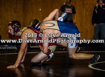 12/14/2013 - Varsity Wrestling - Whittier Tech vs Needham