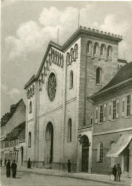 Mannheim Synagogue 1855-1938