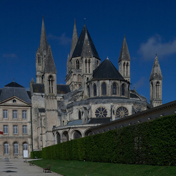 Caen, Abbaye-aux-Hommes