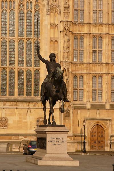 Richard I's Statue. London
