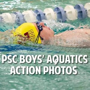 Boys Swimming Action
