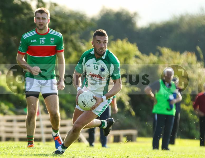 Cahir's Kieran O'Dwyer and Loughmore Castleiney's John McGrath