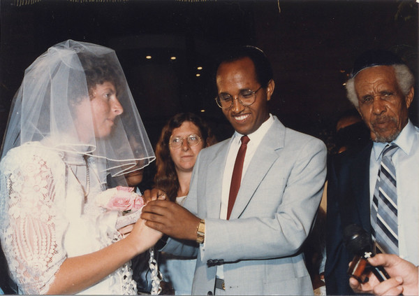 1986 05 Karen Landy Wedding