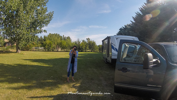 August 21, 2019 Packing To Go to Lanes Landing in Leeley Lake, MT