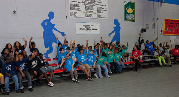 March 14th, 2012 The Ferrari Art Project at the Nan Knox Boys and Girls Club