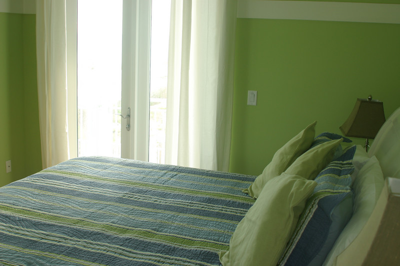 2nd floor bedroom- king bed, private bath, balcony, gulf view