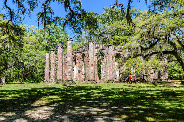 Old Shelden Church Ruins