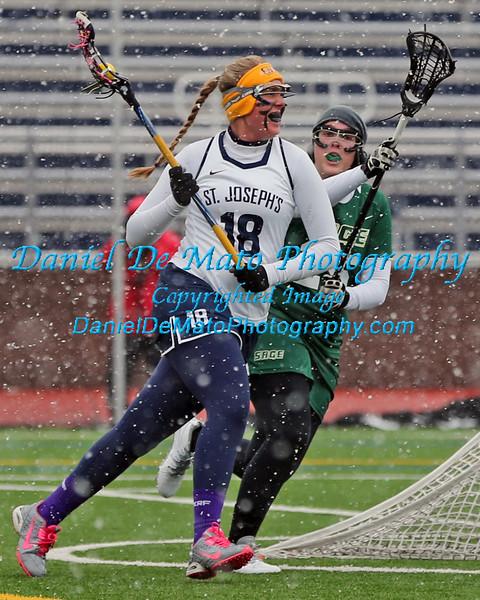 St. Joseph's Lacrosse vs Sage 3-28-15