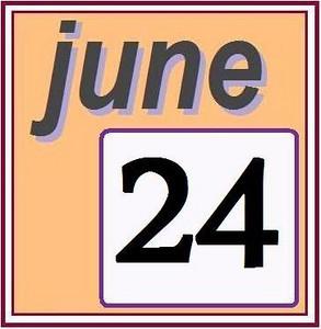 24 JUNE