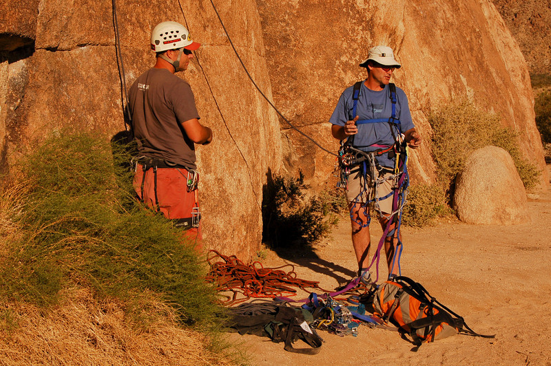 Aid Climbing with MARK WILFORD (Patagonia), Short Wall. The basic skills necessary for big walls.