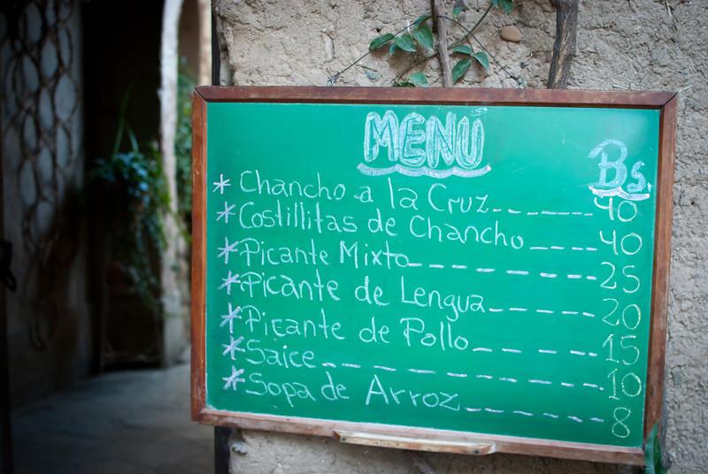 Tarija 201205 Casa Vieja Menu.jpg