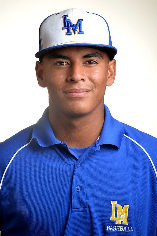 . Ethan Lopez from La Mirada High School was selected to the Whittier Daily News All-Area Baseball team on Tuesday June 10, 2014. (Photo by Keith Durflinger/Whittier Daily News)