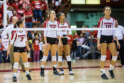 UW Sports - Volleyball - Sept 11, 2015