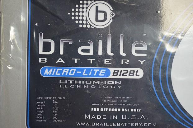 braille battery on ark design GTR