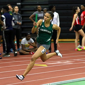 Girls Indoor Track 2018-19