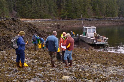 Preparing to Work April 2013, Cynthia Meyer, Chichagof Island, Alaska